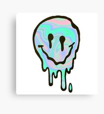 Hologram Smile Canvas Print