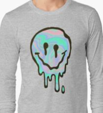 Hologram Smile Long Sleeve T-Shirt