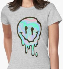 Hologram Smile Women's Fitted T-Shirt