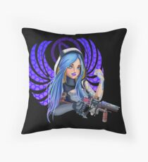 Maya Angel - Borderlands Floor Pillow