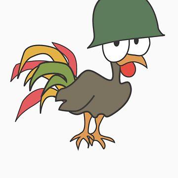 Helmet Cock by Cock-a-doodle