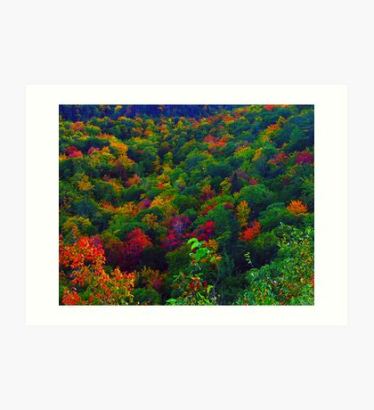 Awesome Autumn Art Print
