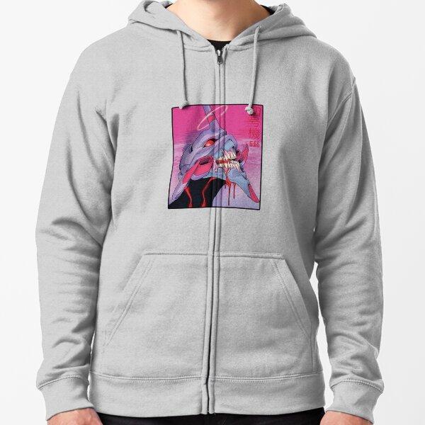 EVA - Neon Genesis Evangelion - 6.66 Zipped Hoodie
