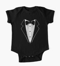 TUXEDO Wedding Groom Prom Bow Kids Clothes