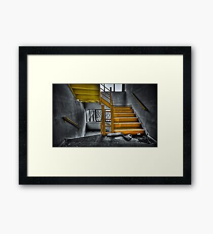 To The Higher Ground Framed Print