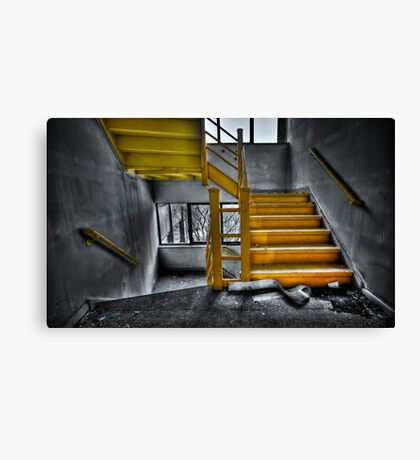 To The Higher Ground Canvas Print