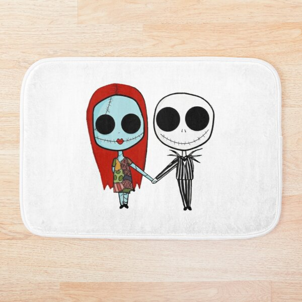 The Nightmare Before Christmas Bath Mat