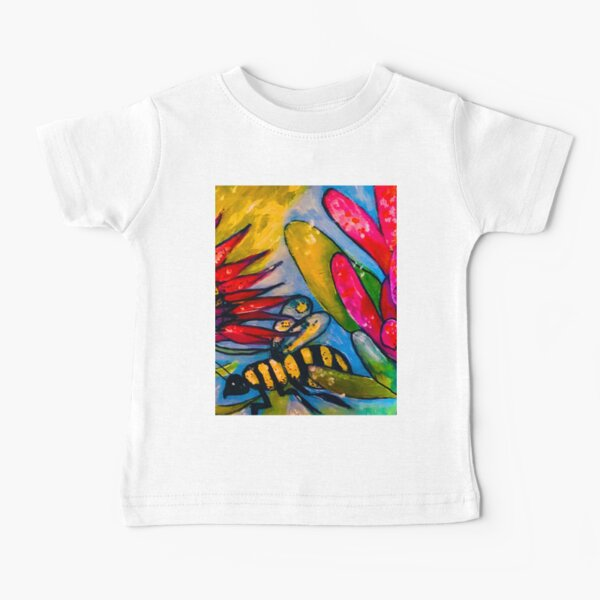 Bee with Proteas Baby T-Shirt