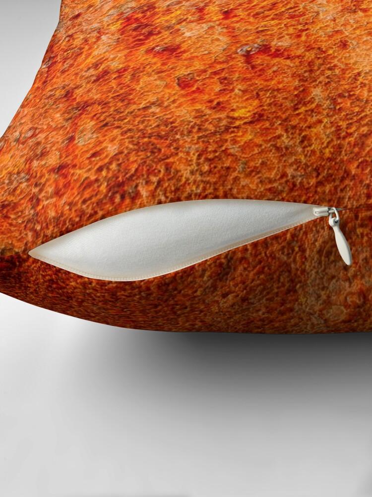 Alternate view of Burnt orange Throw Pillow