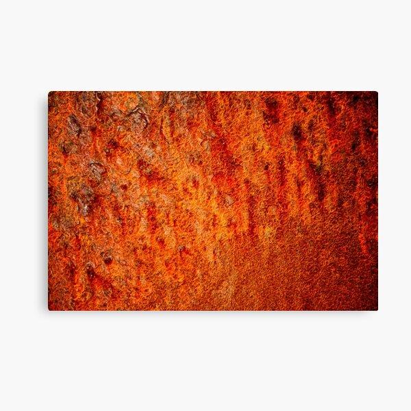 Burnt orange Canvas Print