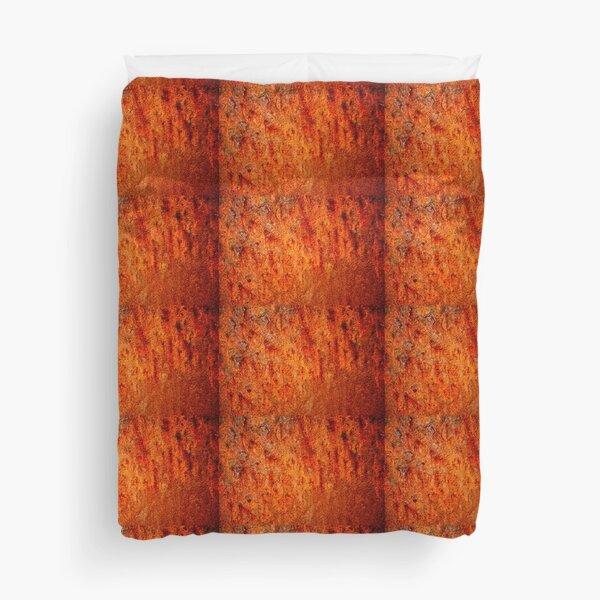 Burnt orange Duvet Cover