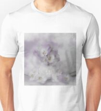 Pastel Pansies Still Life Unisex T-Shirt