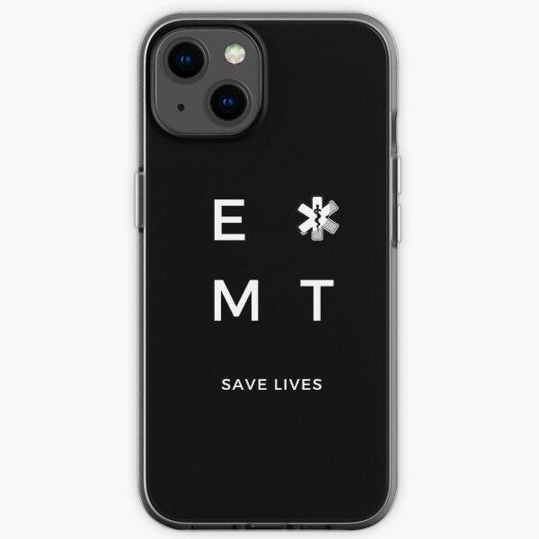 EMT - Save Lives iPhone Soft Case