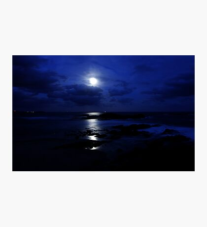 Blue Moon Photographic Print