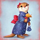 Festival Otter by Tami Wicinas