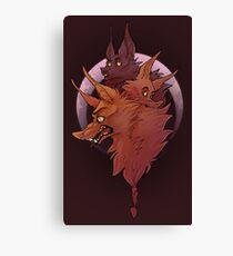 Werewolf Mash Canvas Print