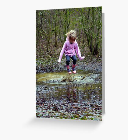 Splash! Greeting Card