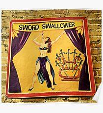 Sword Swallower Poster