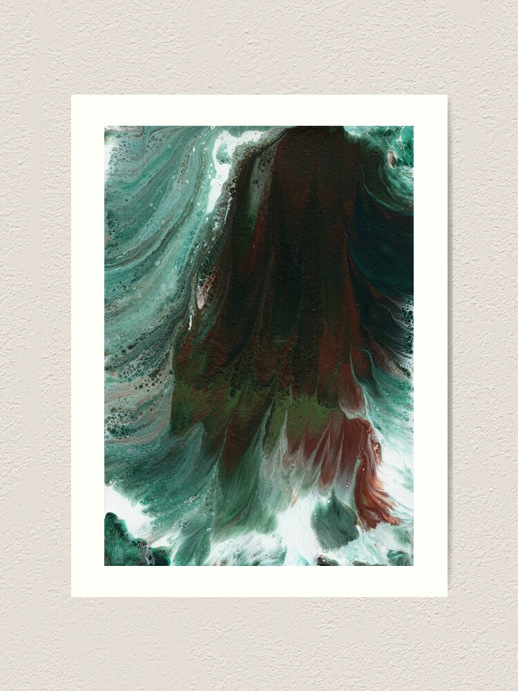 Alternate view of Surging Waves Art Print