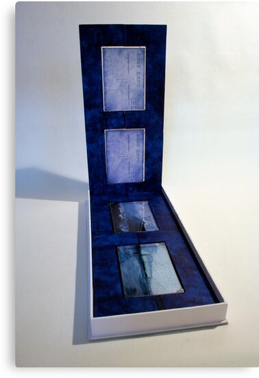 Secret Postcards Blues by Pascale Baud