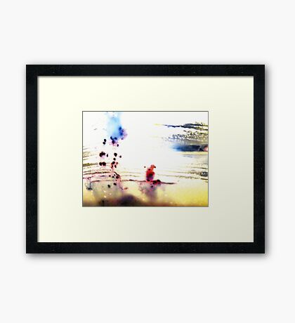 01-23-11  Muffin Abstract Framed Print