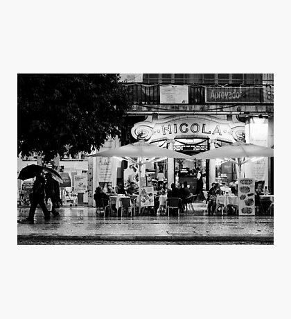 La terrasse Photographic Print