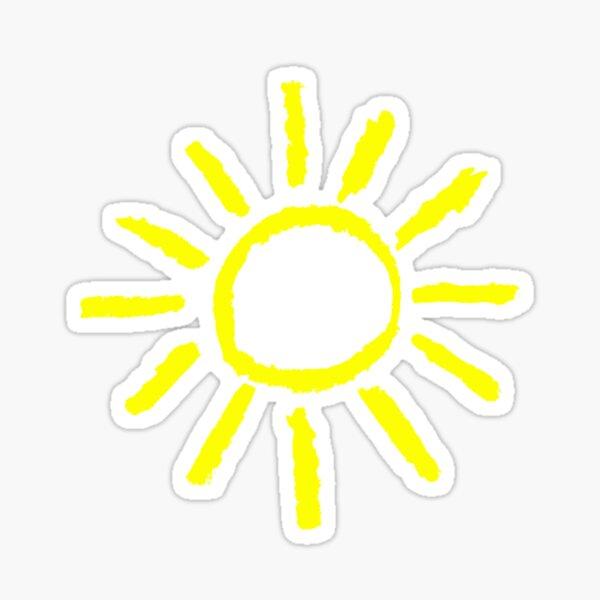 Sonne im Herzen Sticker
