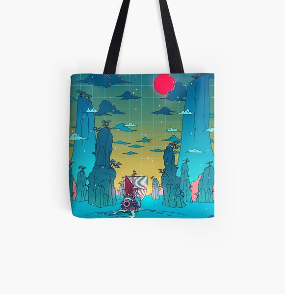 To the next adventure! All Over Print Tote Bag