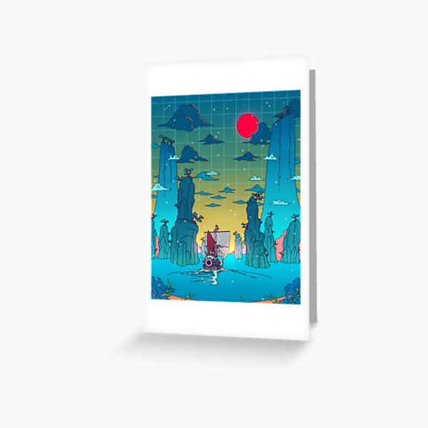 To the next adventure! Greeting Card
