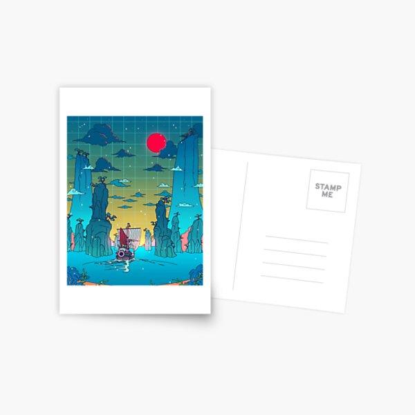 To the next adventure! Postcard
