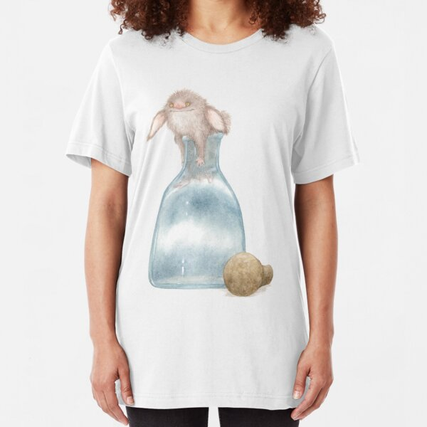 Thing Escaping A Jar Slim Fit T-Shirt