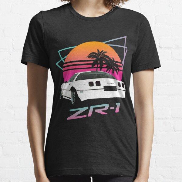 Retro 80's Chevy Corvette ZR-1 Essential T-Shirt
