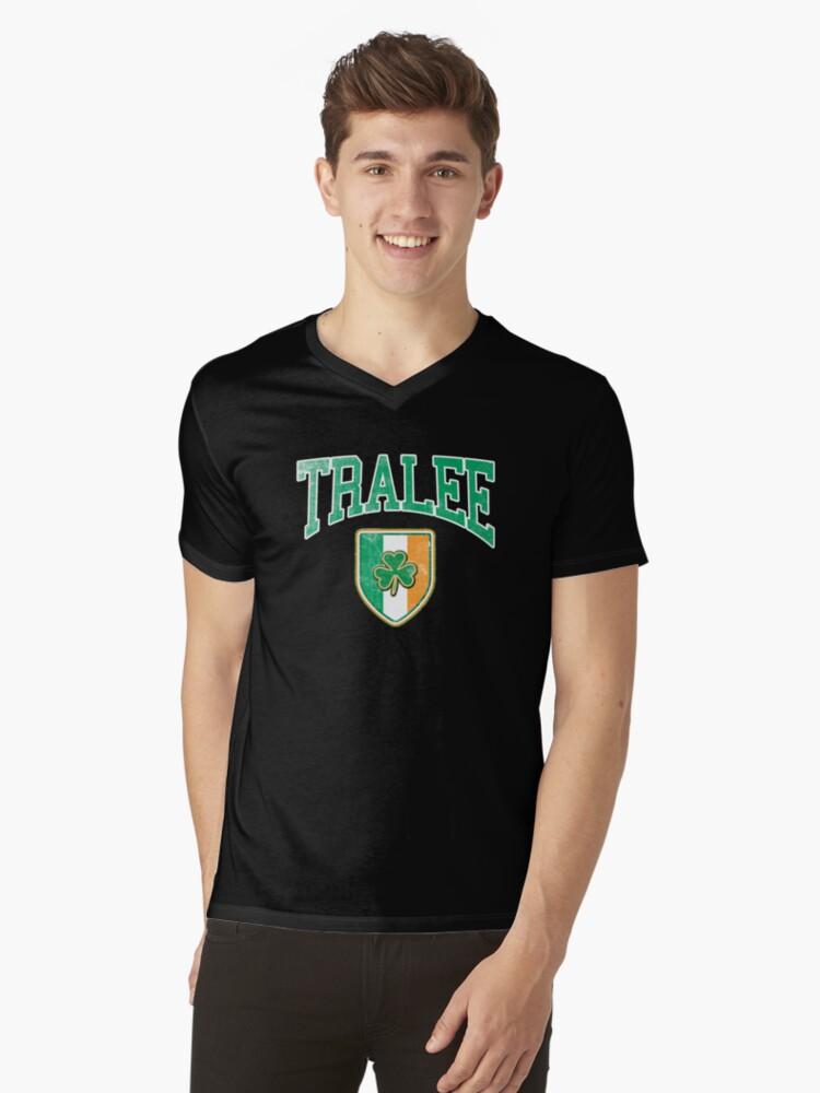 Santa Rosa City Shamrock Tri-Blend Long Sleeve T-Shirt