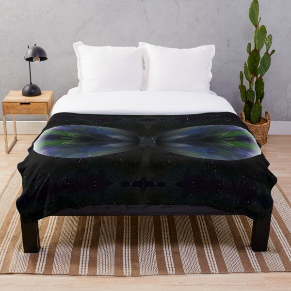 Terra Nova: planet painting Throw Blanket