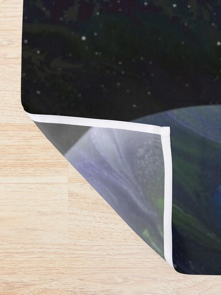 Alternate view of Terra Nova: planet painting Shower Curtain