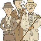 Detectives by carlbatterbee