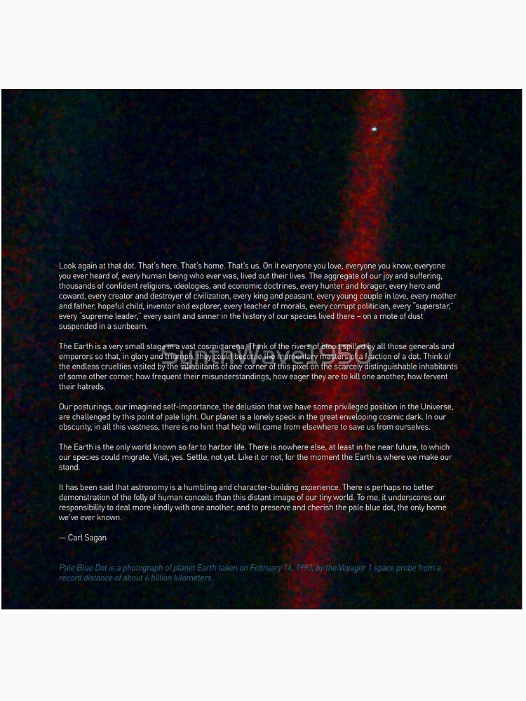 Pale Blue Dot — Voyager 1 & Carl Sagan quote ⛔ HQ-quality by SynthWave1950