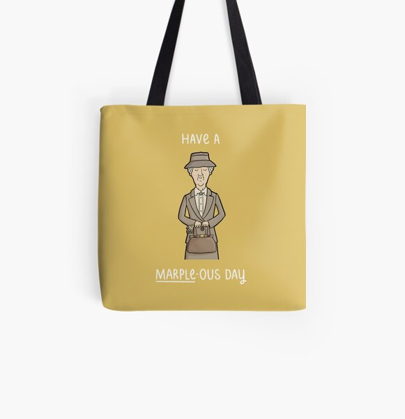 Have a Marple-ous Day All Over Print Tote Bag