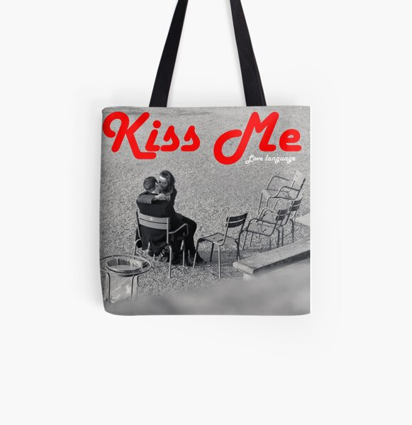 Kiss Me Tote bag doublé