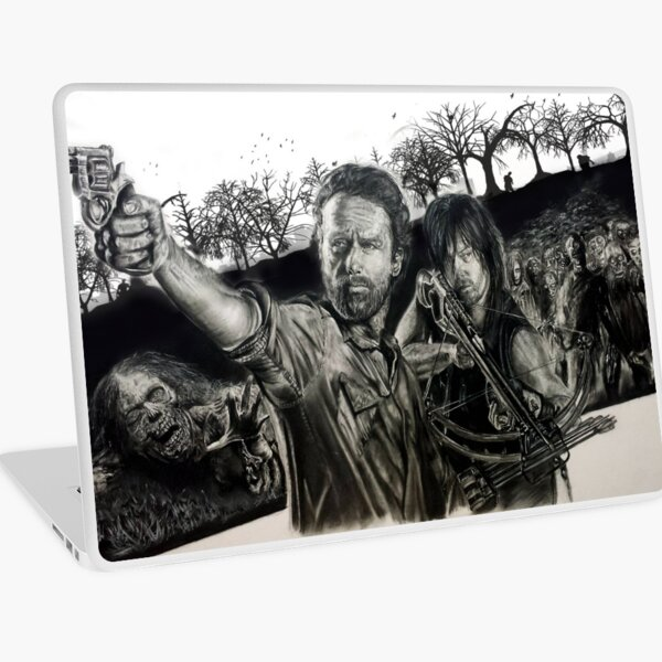 The Dead are Walking Laptop Skin