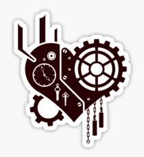 Clockwork Heart Sticker