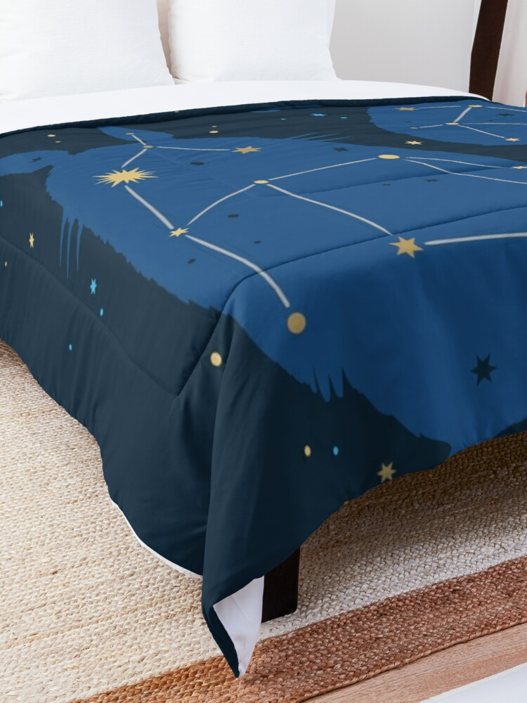 Alternate view of Neighborly Skies Comforter
