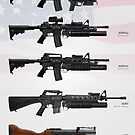 Modern Grenade Launchers of the United States by nothinguntried