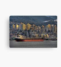 Cargo Cruiser Canvas Print