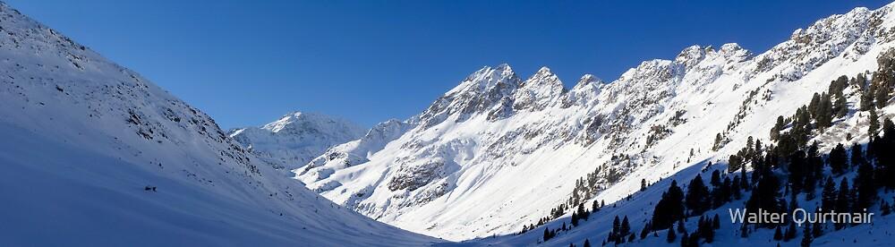 Alpine Valley by Walter Quirtmair
