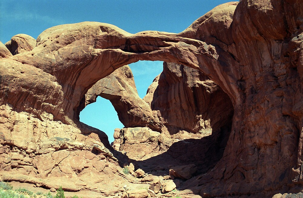 Double Arch: Arches National Park by RocklawnArts