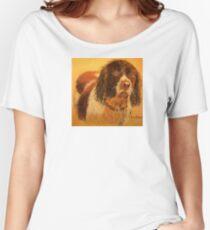 Beware Wet Spaniel! Women's Relaxed Fit T-Shirt