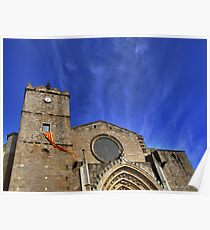 Basilika Santa Maria of Castelló d'Empúries (i) - (Spain) Poster
