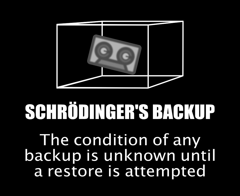 Schrödinger's backup - Fundraiser for the Trevor Project by runeo34