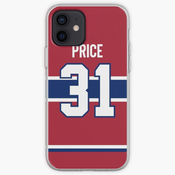 Montreal Canadiens Carey Price Home Jersey Back Phone Case iPhone Soft Case